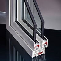 UPVC Profiles 80mm Sliding Series for PVC Window Door