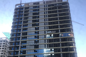 Curtain wall project