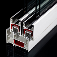 Sliding UPVC Profiles for PVC Window And Door